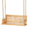 AZT4073 - 3-1/2 Inch Porch Swing, Oak/Cb