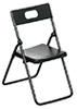 AZT4249 - Folding Chairs, Black