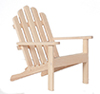 AZT4619 - .Adirondack Chair, Unfinished