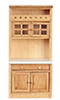 AZT4740 - Cabinet with Shelves, Oak