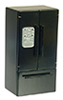 AZT4755 - Refrigerator with Freezer On Bottom, Black