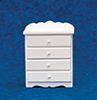 AZT5139 - 4-Drawer Chest, White with Decal