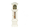AZT5317 - Grandfather Clock, White
