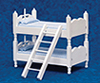 AZT5350 - Bunkbeds with Ladder, Blue/White