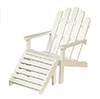 AZT5516 - Adirondack Chair/White