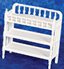 AZT5547 - Victorian Changing Table, White
