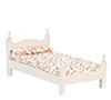 AZT5809 - Single Bed, White