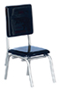 AZT5909 - 1950'S Style Black Chair