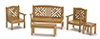 AZT5939 - Garden Set, Maple, 5pc