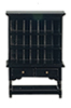 AZT5960 - Hutch, Black