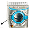 AZT5995 - .Washing Machine, Silver