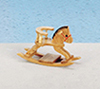 AZT6018N - Rocking Horse, Oak