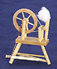 AZT6170N - .Spinning Wheel, Oak, Cb