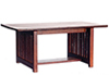 AZT6240 - Dining Table, Walnut