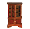 AZT6303 - Hutch, Walnut