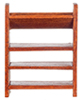 AZT6347 - Small Bookshelf/Walnut