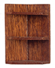 AZT6359 - Corner Shelf/Walnut
