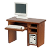 AZT6601 - Jefferson Writing Table, Walnut