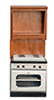 AZT6717 - Oven Without Microwave, Walnut