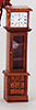AZT6798 - Grandfather Clock, Walnut