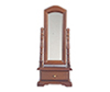 AZT6819 - Standing Mirror/Walnut