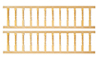 Porch Rails Set, 2pc