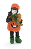 AZT8250 - .Pumpkin Girl/Pumpkin Dress Figure