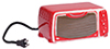 AZT8426 - Toaster Oven/Red