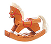 AZT8465 - Brown Rocking Horse/Cb