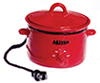 AZT8478 - Electric Crockpot, Red