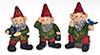 AZT8529 - 1-1/2 In Gnomes Set, 3Pc