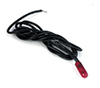 AZT8539 - .GOW Bulb Red/Black Wire, 12V, 12Pc
