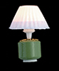 AZT8543 - 12V Green Base Lamp