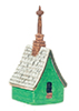 AZT8597 - Irish Cottage Birdhouse