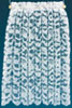 BB50102 - Curtains: Lace Panel, 1-1/2 In White