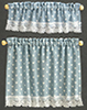 BB50413 - Cottage Curtains: Nursery Hearts, Blue