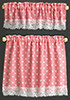 BB50414 - Cottage Curtains: Nursery Hearts, Pink