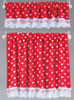 BB50416 - Cottage Curtains, Nursery Hearts, Red
