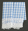 BB50613 - Kitchen Dish Towels: Gingham Blue