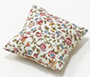 BB80019 - Pillow: Ecru With Floral Print