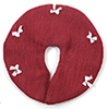 BB90005 - Tree Skirt, Cranberry With White Bows