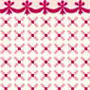 BPHAM102R - 1/2In Scale Wallpaper, 6pc: Stencil, Red