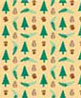 BPQCT108 - 1/4In Scale Wallpaper, 6pc: Moose Lake