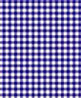 BPQGG101 - 1/4In Scale Wallpaper: Gingham, Blue