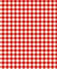 BPQGG102 - 1/4In Scale Wallpaper: Gingham, Red