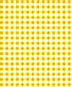 BPQGG105 - 1/4In Scale Wallpaper: Gingham, Yellow