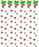 BPQKT106 - 1/4In Scale Wallpaper: Strawberries