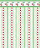 BPQKT303 - 1/4In Scale Wallpaper: Cherry Orchard