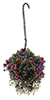 CAHBL18 - Hanging Basket: Red-Purple-White, Large