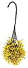 CAHBS19 - Hanging Basket: Yellow-White, Small